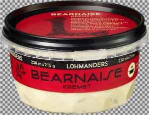 Prøv også Lohmanders Bernaise Kremet.