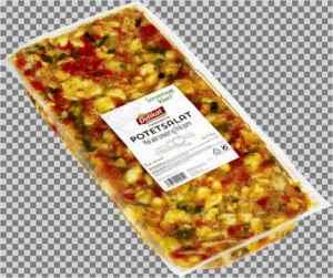 Prøv også Delikat Potetsalat i vinaigrette med tomat og purre.