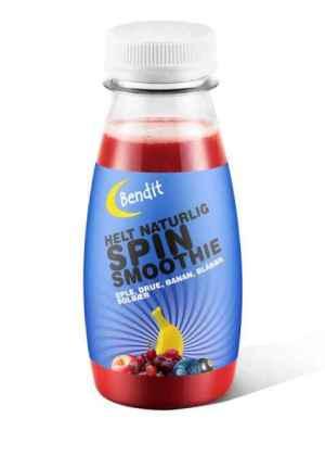 Prøv også Bendit Spin smoothie.