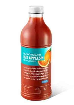 Prøv også Cevita helt naturlig rød appelsin med fruktkjøtt.