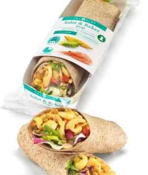 Prøv også Bama VelValgt Wrap med salat og reker.