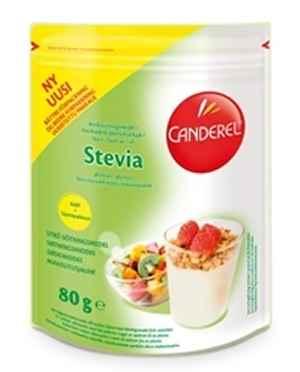 Prøv også Canderel Stevia strø.
