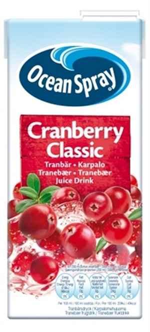 Prøv også Ocean Spray Cranberry Classic.