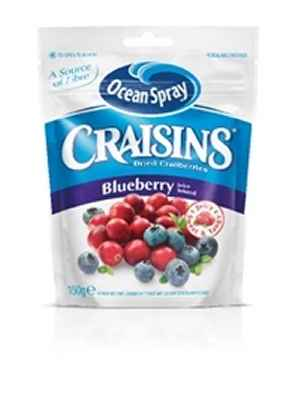 Prøv også Ocean Spray Craisins® Blueberry.