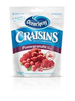 Prøv også Ocean Spray Craisins® Pomegranate.