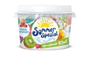 Prøv også Synnøve gresk yoghurt med sprudlende kiwi.