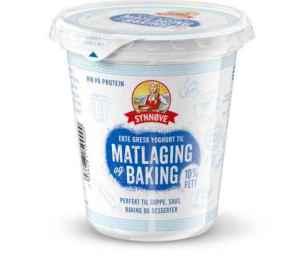 Prøv også Synnøve gresk matlagingsyoghurt.