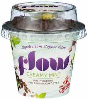Prøv også Synnøve flow kremet mint.