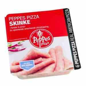 Prøv også Peppes skinke.