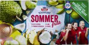 Prøv også Tine Yoghurt Sommerfrisk ananas og graviola.