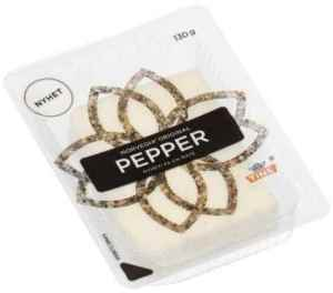 Prøv også Tine Norvegia original pepper.