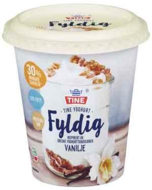 Prøv også TINE Yoghurt fyldig vanilje.