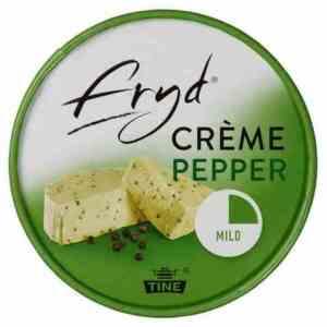 Prøv også Tine Fryd creme pepper.