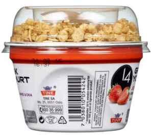 Prøv også Tine 14 Gresk Yoghurt Jordbær.