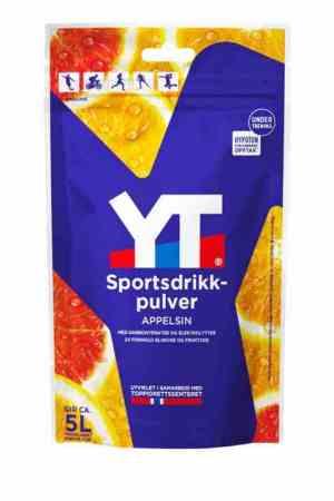 Prøv også Tine YT Sportsdrikkpulver Rød Appelsin.