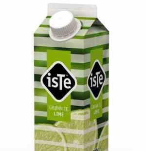 Prøv også Tine IsTe Lime grønn.