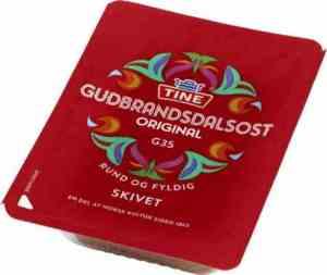 Prøv også Tine Gudbrandsdalsost skiver.