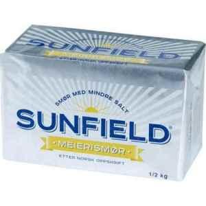 Prøv også Tine sunfield meierismør.