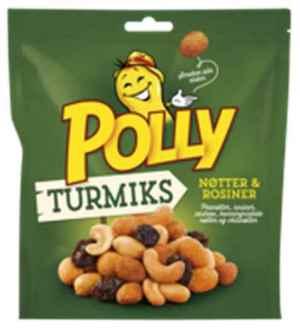 Prøv også Polly turmiks original.