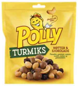 Prøv også Polly turmiks sjokolade.