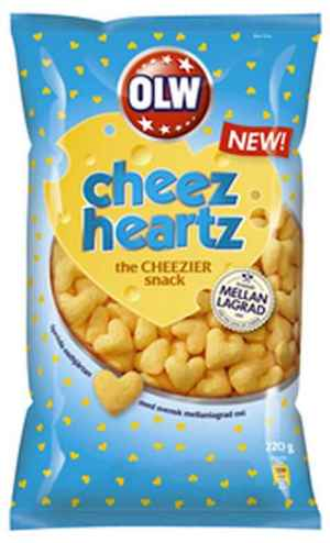 Prøv også Cheez heartz.