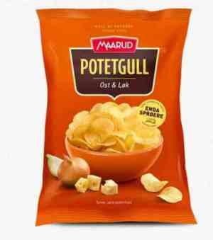 Prøv også Maarud Potetgull® ost og løk.