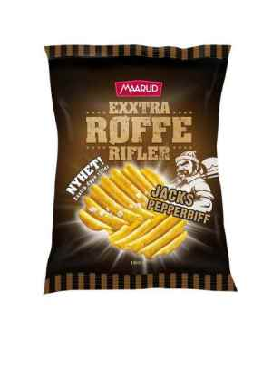 Prøv også Maarud Exxtra Røffe Rifler Jacks pepperbiff.