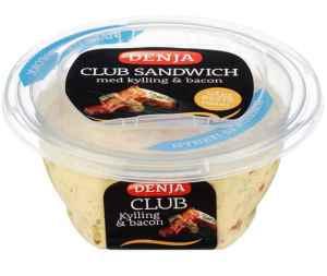 Prøv også Denja club sandwich kylling.