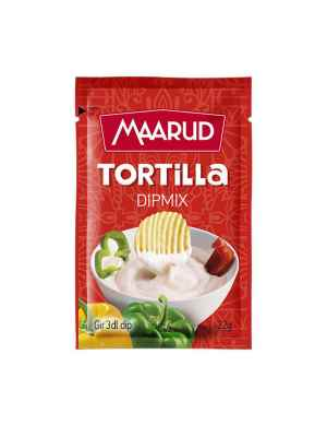 Prøv også Maarud dipmix tortilla.