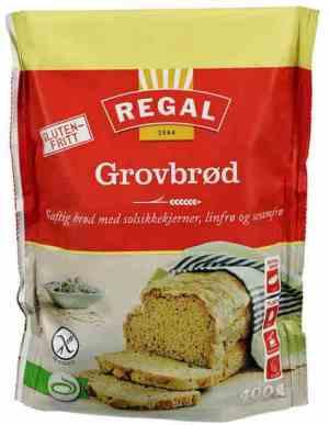 Prøv også Regal Glutenfritt Grovbrød.