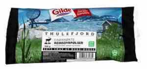 Prøv også Thulefjord Reinsdyrpølse.