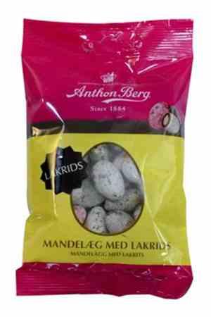 Prøv også Anthon Berg Mandelegg lakris.