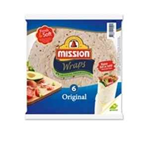 Prøv også Mission Fresh and Soft Original Wrap.