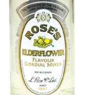 Prøv også Roses Elderflower.
