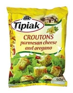 Prøv også Tipiak Krutonger med Parmesanost og oregano.