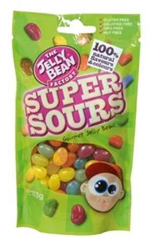 Bilde av Jelly Bean Super Sour.