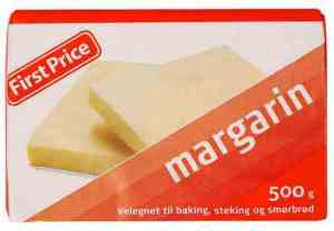 Prøv også First Price margarin.