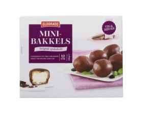 Prøv også Eldorado minibakkels med sjokoladetrekk.
