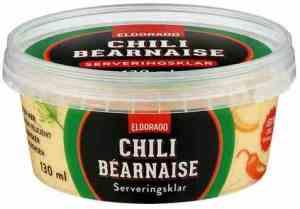 Prøv også Eldorado chili bearnaise.