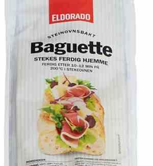 Prøv også Eldorado rustikk baguette.