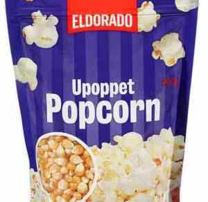 Prøv også Eldorado popcorn upoppet.