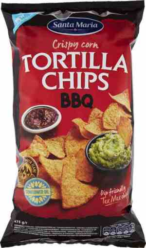 Prøv også Santa maria Tortilla Chips BBQ.