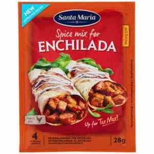 Prøv også Santa maria Enchilada spice mix.