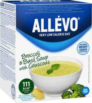 Prøv også Allevo VLCD Brokkoli & Basilikum Suppe.