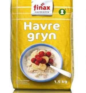 Prøv også Finax havregryn.