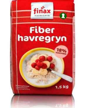 Prøv også Finax fiber havregryn.