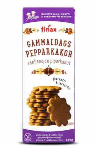 Prøv også Finax glutenfri gammeldags pepparkakor.