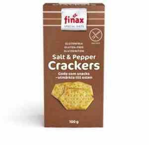 Prøv også Finax Glutenfria salt og pepper crackers.