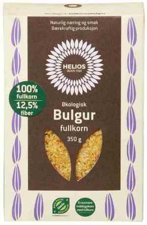 Prøv også Helios Bulgur fullkorn.
