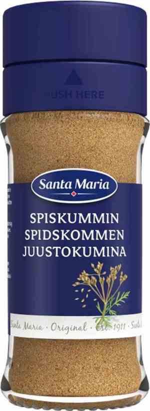 Prøv også Santa maria spisskummen.